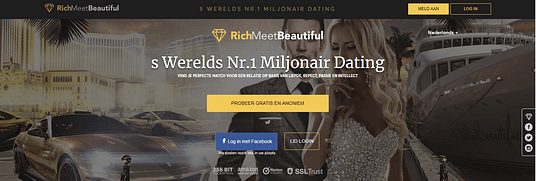Online dating sites voor miljonairs